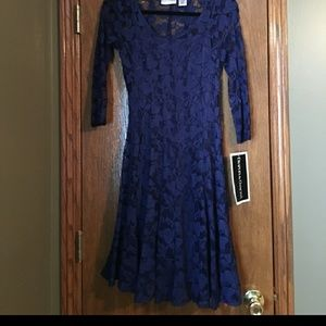 NWT DRAPERS AND DAMONS LACE FIT AND FLARE